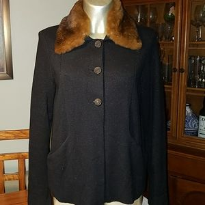 Dana Buchman Vintage Cashmere Silk Cardigan